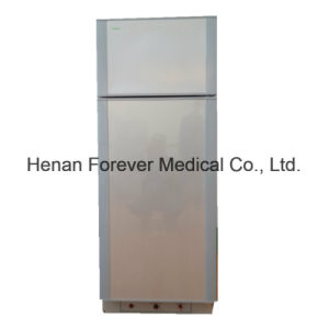 300L Hotel Use Silience No Noise Absorption Gas Refrigerator pictures & photos