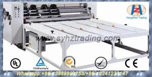 Four Knives Linkage Corrugated Paper Slotting Notching Machine (Chain Feeding)