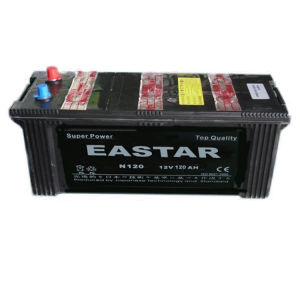 JIS Mf Car Battery/N120 12V120ah Mf Car Battery/ Starting Car Battery pictures & photos