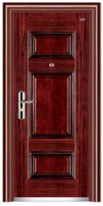 Steel Security Door for Building Project pictures & photos