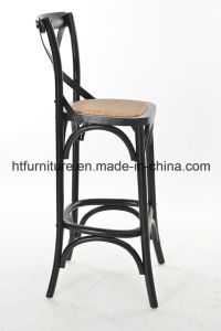 Wood X-Back Bar Stool pictures & photos