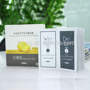 OEM Anti-Static Wet Dry Wipes for Glasses pictures & photos