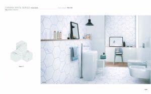 Hexagon Tile Carara White Ceramic Tile pictures & photos