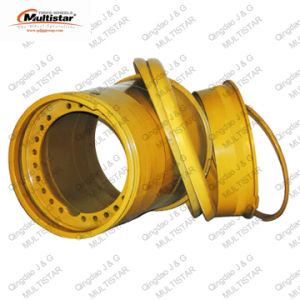 Underground Mining Loader Wheel Rim 29-25.00/3.5 5-PC Tubeless for Tyre 29.5r29 pictures & photos
