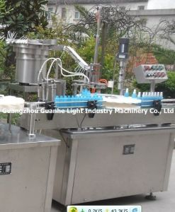 Automatic Liquid Aerosol Filling Line for Spray Bottles pictures & photos