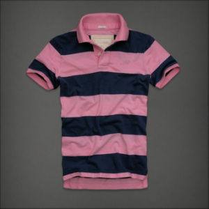 Men′s Fashion Yarn Dyed Polo Shirt