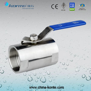1PCS Stainless Steel Bar Stock Ball Valve with 1000psi pictures & photos