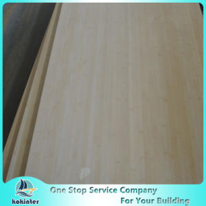 Multi-Ply 12mm Natural Edge Grain Bamboo Board for Furniture/Worktop/Floor/Skateboard pictures & photos