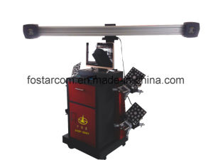 No Push Cart Type 3D Four Wheel Positioning Instrument pictures & photos