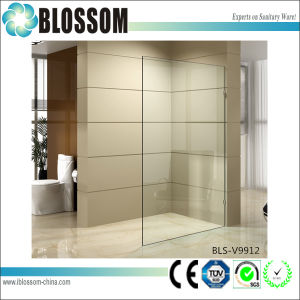 Corner Frameless Design Shower Door 10mm Tempered Glass Shower Wall pictures & photos