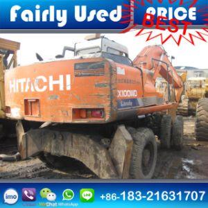 Used Hitachi Ex100wd-1 Tire Excavator of Hitachi Ex100wd-1 Wheel Excavator