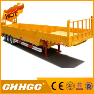 Hot Sale 3axle Fence Semi Trailer with 40-80tons Capacity pictures & photos