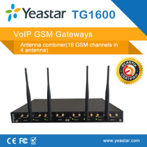 Yeastar 16 GSM Channel F4 in 1 Antenna Supported VoIP GSM Gateway pictures & photos