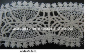 Bulk Order White Crochet Cotton Dress Lace (CCT00157/11)