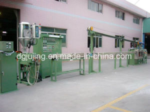 Electric Cable Wire Complete Extrusion Line PVC/XLPE Nylon Cable Making Machine pictures & photos