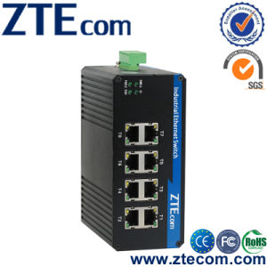 8-port Gigabit Unmanaged Industrial Ethernet DIN-Rail Switch (IES1008G)