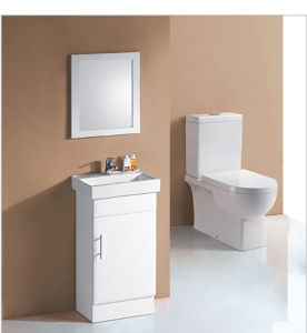 Home White Baking Classic Bathroom Vanity with Bathroom Mirrors (P6015-450W) pictures & photos