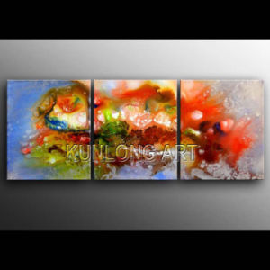 Colorful Modern Abstract Decoration Art Oil Painting (KLA3-0027)