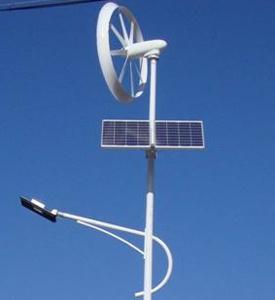 400W eólica e solar Poste híbrido com CE
