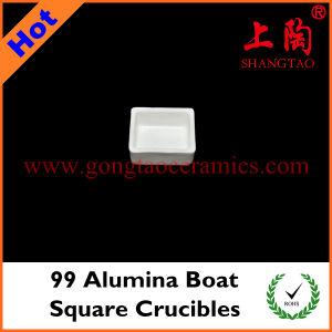 99 Alumina Boat Square Crucibles pictures & photos