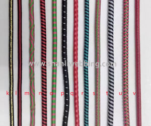 Mixed Color Bungee Cord, Striped Elastic Rope, Round Elastic Cord pictures & photos