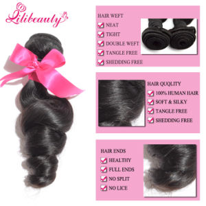 7A Grade 100% Malaysian Human Hair Loose Wave Hair Bundles pictures & photos