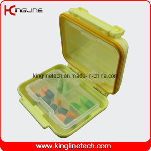 Plastic 6-Cases Pill Box (KL-9134) pictures & photos