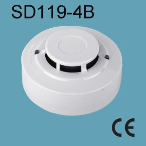 Wire Smoke Detector with Buzzer SD-119-4b pictures & photos