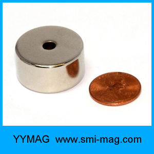 Permanent Magnetic Material Sinter Neodymium Ring Magnet pictures & photos