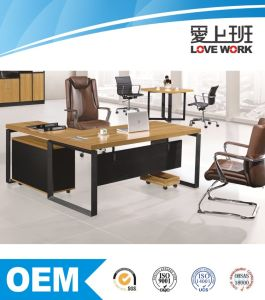 Latest Design L-Shape Office Table Manager Desk