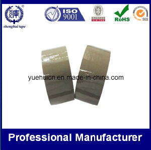 BOPP Low Noise Adhesive Tape Brown and Tan Color pictures & photos