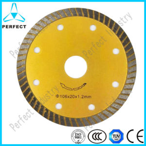 Continuous Rim Diamond Saw Blade for Decorative Material pictures & photos