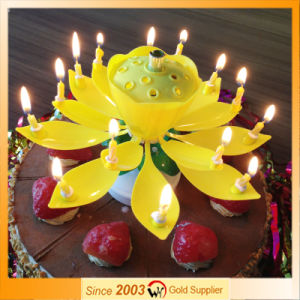 Hot Sales Music Happy Birthday Candle pictures & photos