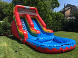 Water Slide Inflatable with Pool, Children Inflatable Water Slide, Garden Inflatable Water Slide pictures & photos