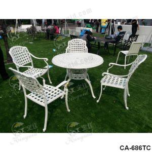 Cast Aluminium Table Chair, Outdoor Furniture, Ca-686 pictures & photos
