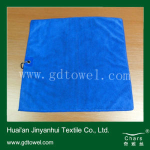 Cheap Microfiber Towel /Face Towel /Blue Towel