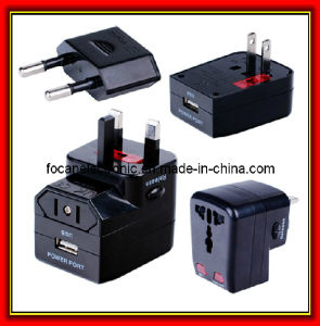 USB World Universal Travel Adapter pictures & photos