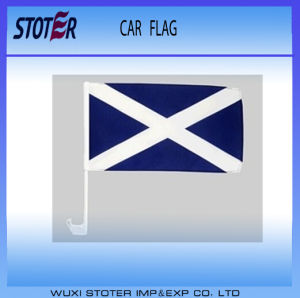 100%Polyester Custom Printing Car Window Flags pictures & photos