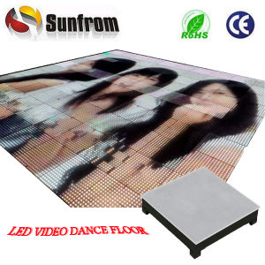 Popular P25 High Definition Video LED Interactive Dance Floor pictures & photos
