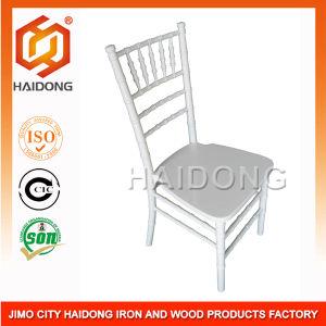 White Wedding Wood Chiavari Chairs (HDCV-01/02) pictures & photos