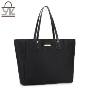 Fashion Women Nylon & PU Leather Designer Shoulder Handbags pictures & photos