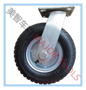 8 Inch Industrial Trolley Air Swivel Caster Rubber Wheel pictures & photos