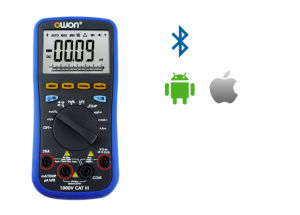 OWON True RMS Bluetooth Portable Smart Digital Multimeter (B35T) pictures & photos