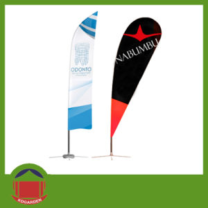 Customized Printing Outdoor Display Flag Banner pictures & photos