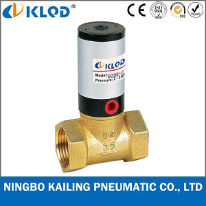 Q22HD-40 2/2 Way Piston Type Brass Material Pneumatic Piston Valve pictures & photos