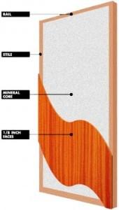 Exterior Solid Wooden Fire Door with Bm Trada Certified pictures & photos