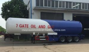 ASME 50000L Gas Tanker Trailer 3 Axles 50 Cbm M3 LPG Tanker pictures & photos