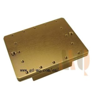 Precision Mechanic Copper Parts Custom Machining Parts (MQ68) pictures & photos