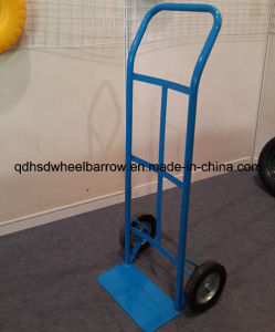 Heavy Duty Garden Metal Two Wheel Hand Trolley (HT1001)