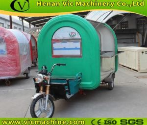 Electric motor mobile food cart pictures & photos